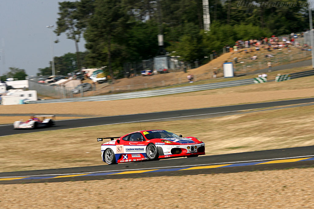 Red, white and blue - Chassis: 2418 - Entrant: Scuderia Ecosse  - 2006 24 Hours of Le Mans