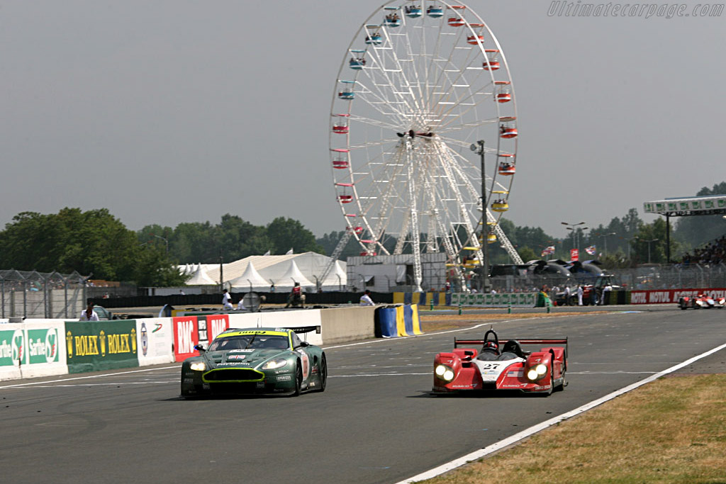 Side by side - Chassis: C60-9 - Entrant: Miracle Motorsports  - 2006 24 Hours of Le Mans
