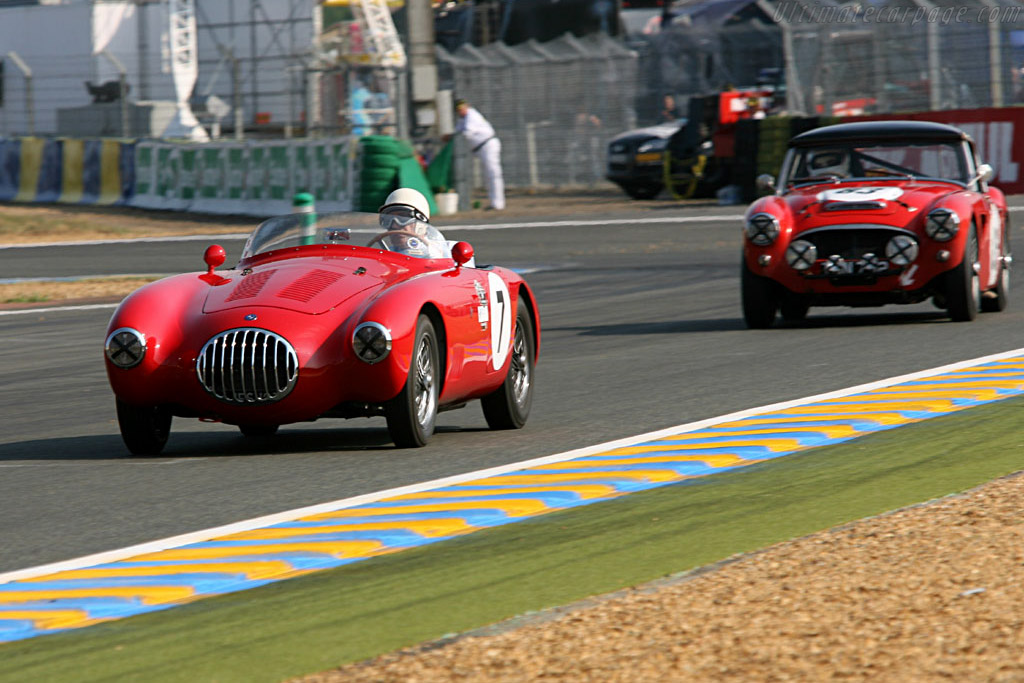 Sir Stirling Moss in a Osca MT4    - 2006 24 Hours of Le Mans