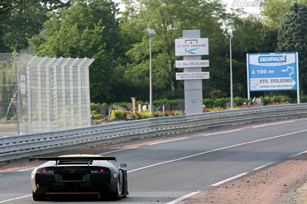 Strong debut for Lamborghini - Chassis: LA01063 - Entrant: JLOC Isao Noritake  - 2006 24 Hours of Le Mans