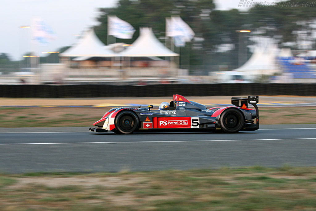 Swiss Spirit still with a working gearbox - Chassis: LC70-05 - Entrant: Swiss Spirit  - 2006 24 Hours of Le Mans