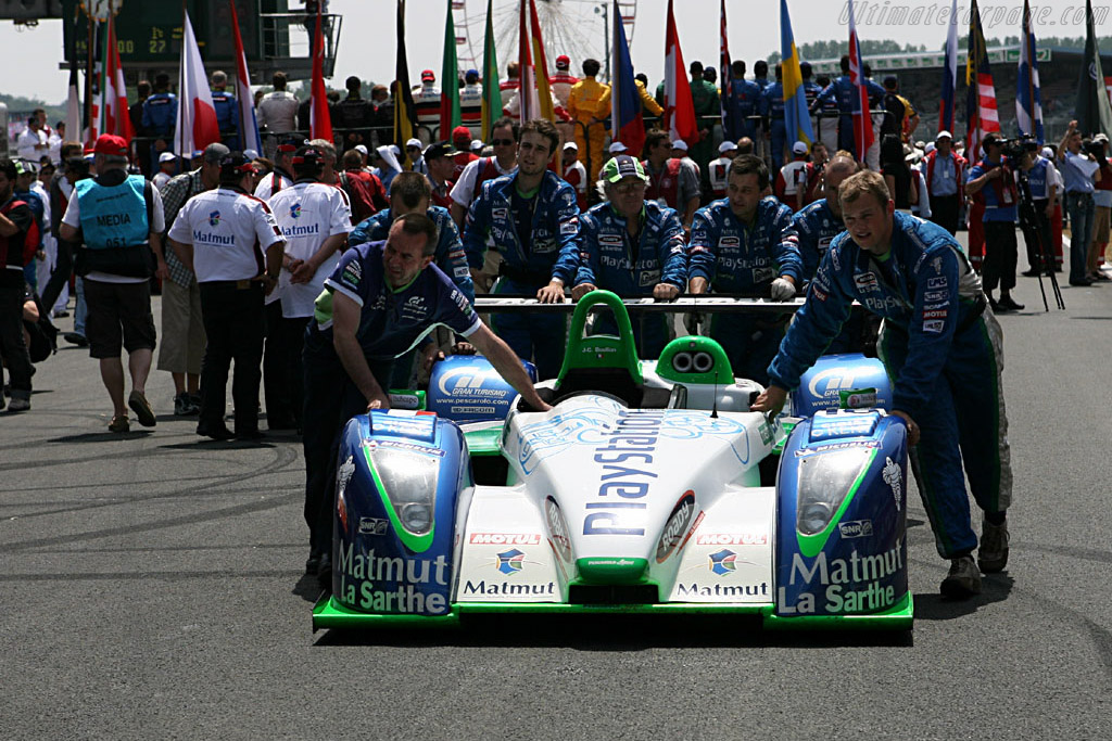 The hope of the French nation - Chassis: 4 - Entrant: Pescarolo Sport  - 2006 24 Hours of Le Mans