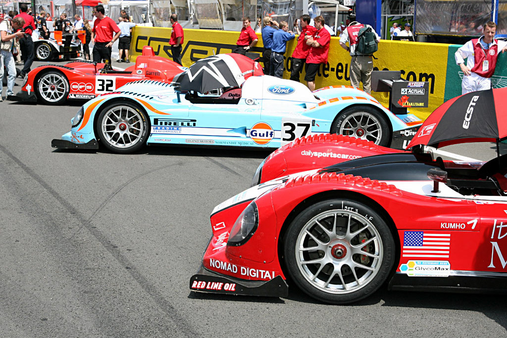 Three of a kind - Chassis: C60-10 - Entrant: Paul Belmondo Racing  - 2006 24 Hours of Le Mans