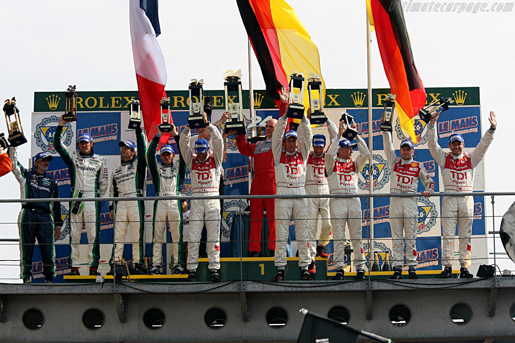 Top three    - 2006 24 Hours of Le Mans