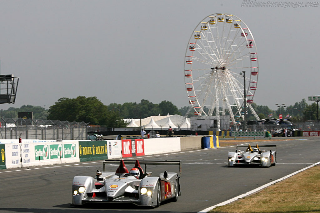 Wheel of fortune - Chassis: 102 - Entrant: Audi Sport Team Joest  - 2006 24 Hours of Le Mans