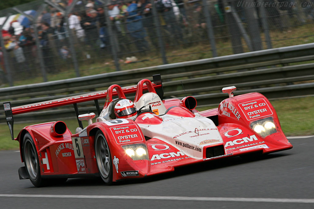 A disappointing Le Mans debut for the Lola Audi - Chassis: B0710-HU01 - Entrant: Swiss Spirit  - 2007 24 Hours of Le Mans