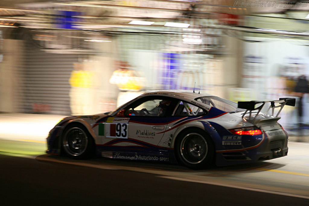 Another stop done - Chassis: WP0ZZZ99Z7S799925 - Entrant: Autorlando Sport  - 2007 24 Hours of Le Mans