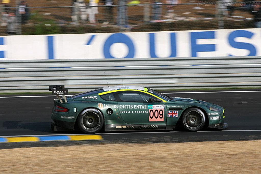 Aston's first Le Mans (class) win since 1959 - Chassis: DBR9/10 - Entrant: Aston Martin Racing  - 2007 24 Hours of Le Mans