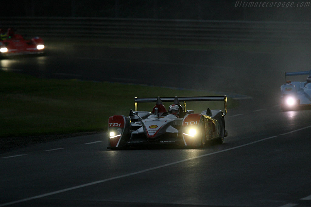 Audi R10 - Chassis: 204 - Entrant: Audi Sport North America  - 2007 24 Hours of Le Mans