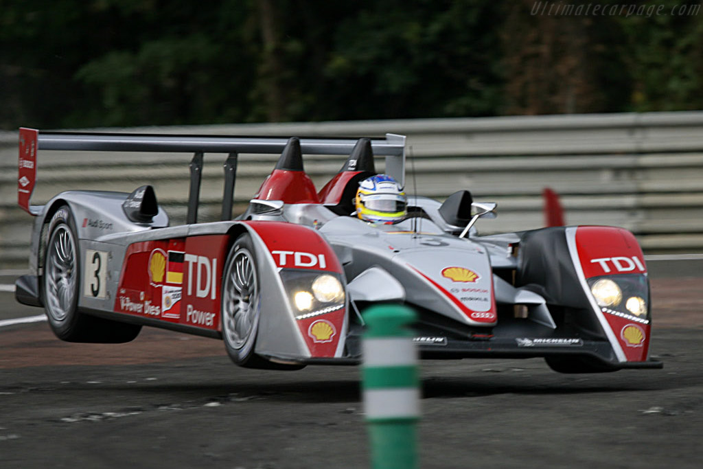 Audi R10 - Chassis: 203 - Entrant: Audi Sport Team Joest  - 2007 24 Hours of Le Mans