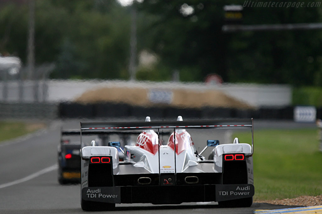 Audi TDI Power - Chassis: 204 - Entrant: Audi Sport North America  - 2007 24 Hours of Le Mans