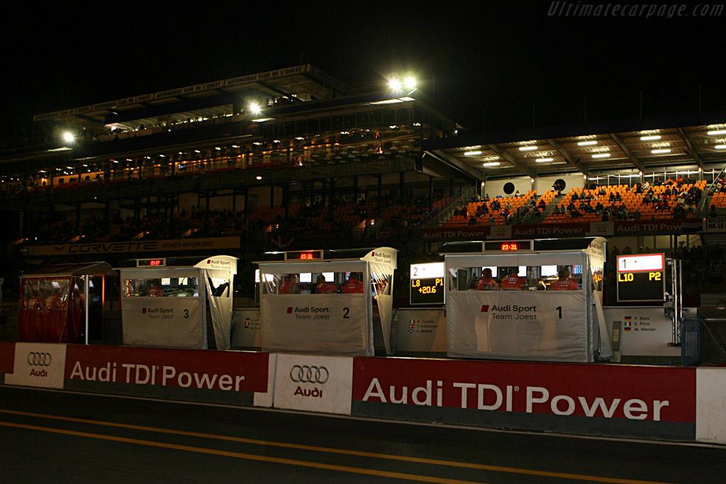 Audi's massive presence    - 2007 24 Hours of Le Mans
