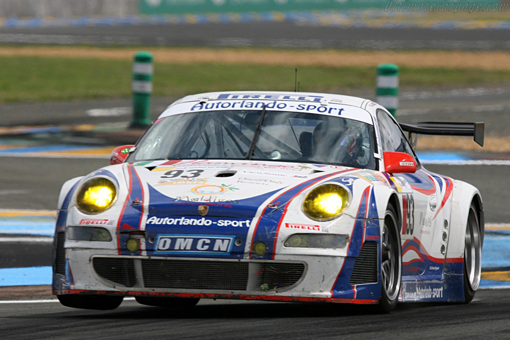 Autorlando on the rebound - Chassis: WP0ZZZ99Z7S799925 - Entrant: Autorlando Sport  - 2007 24 Hours of Le Mans