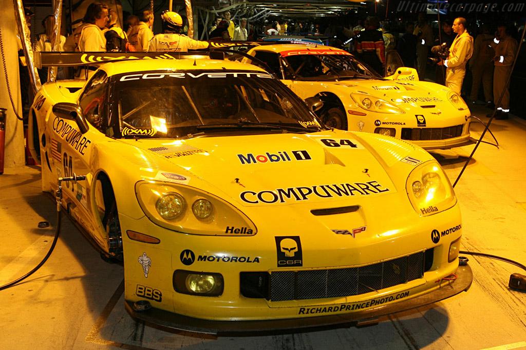 Chevrolet Corvette C6.R - Chassis: 006 - Entrant: Corvette Racing  - 2007 24 Hours of Le Mans