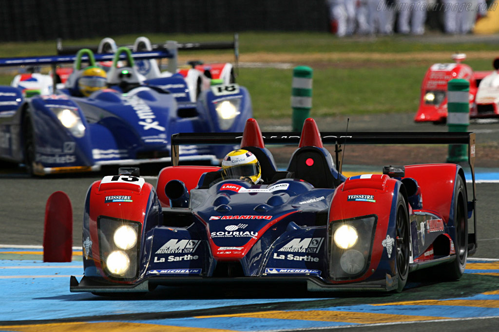 Courage, Pesca and two Lolas - Chassis: LC70-4 - Entrant: Courage Competition  - 2007 24 Hours of Le Mans