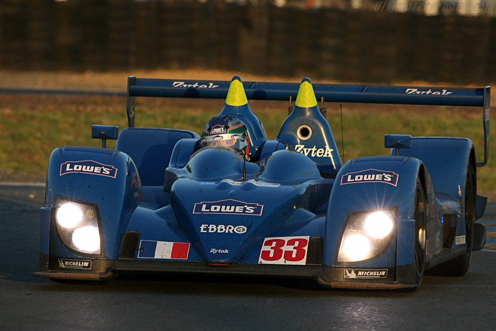 Fernandez still in the Zytek - Chassis: 07S-03 - Entrant: Barazi Epsilon  - 2007 24 Hours of Le Mans