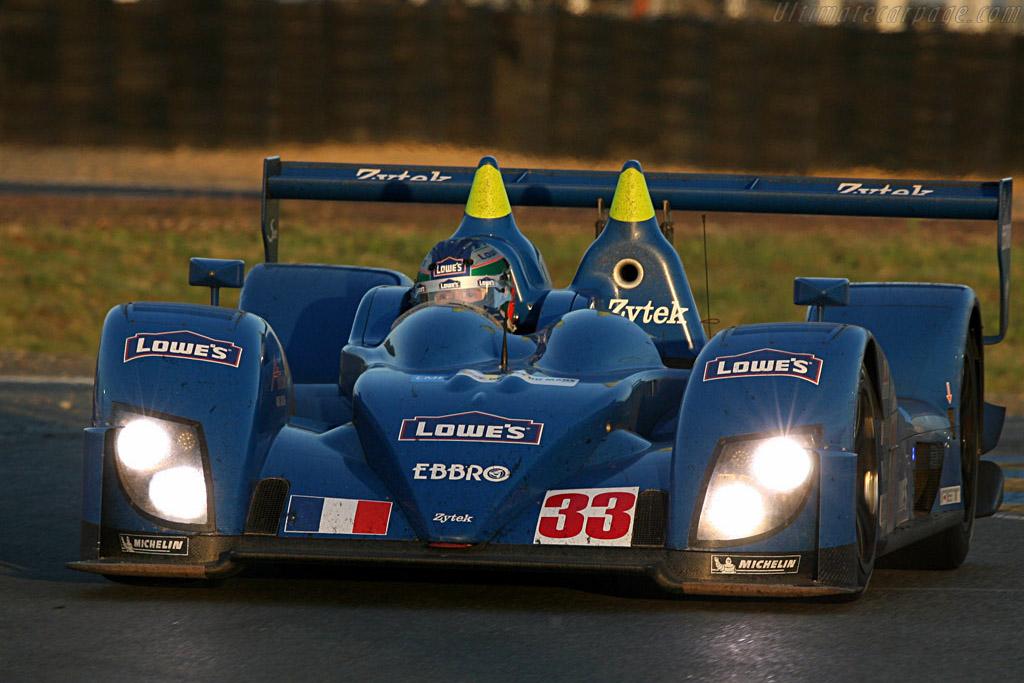 Fernandez still in the Zytek - Chassis: 07S-03 - Entrant: Barazi Epsilon  - 2007 24 Hours of Le Mans