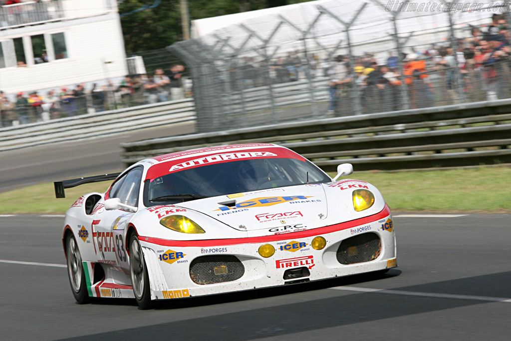GPC Ferrari - Chassis: 2410 - Entrant: GPC Sport  - 2007 24 Hours of Le Mans