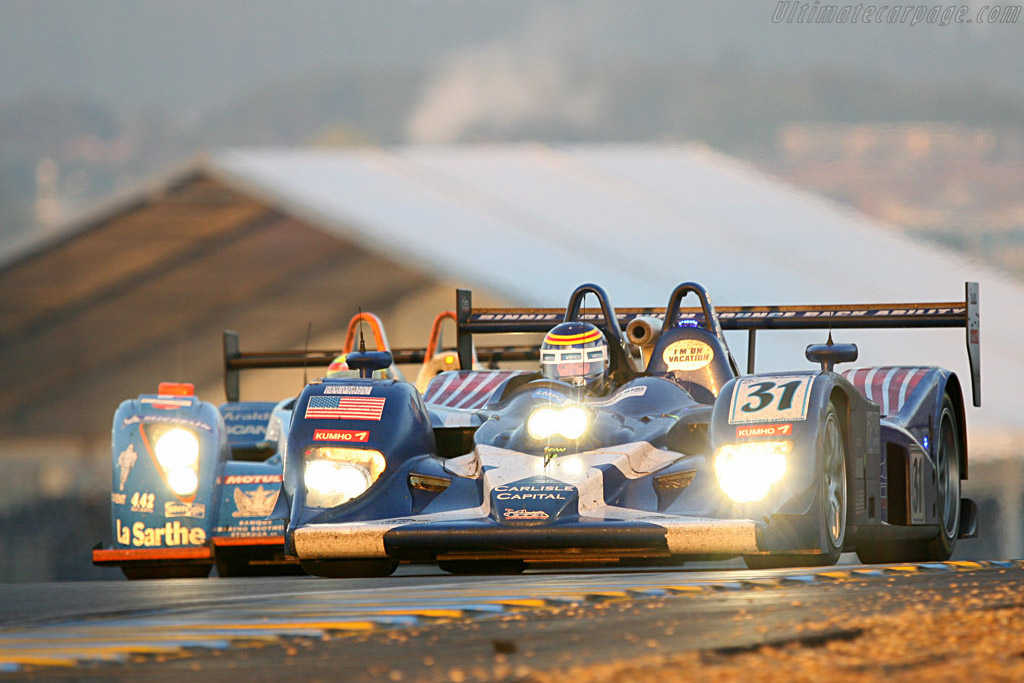Heading for a class victory - Chassis: B0540-HU02 - Entrant: Binnie Motorsports  - 2007 24 Hours of Le Mans