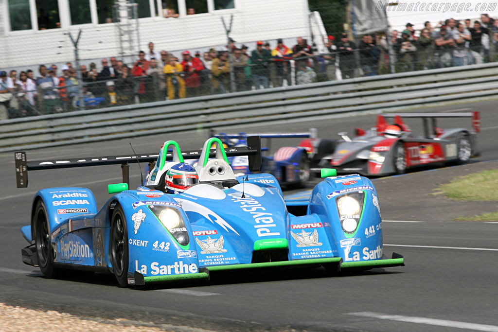 Henri's Pescarolo heading for a third podium in a row - Chassis: 01-05 - Entrant: Pescarolo Sport  - 2007 24 Hours of Le Mans