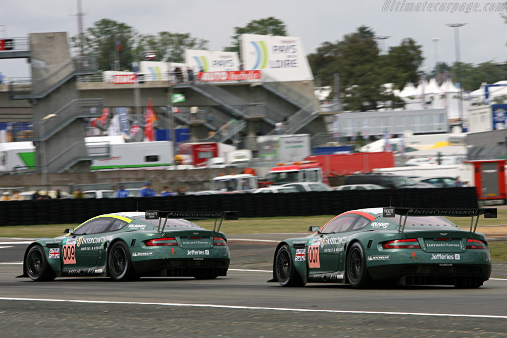 Her Majesty's Secret Service - Chassis: DBR9/7 - Entrant: Aston Martin Racing  - 2007 24 Hours of Le Mans