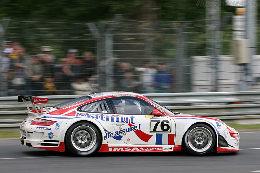 IMSA Performance - Chassis: WP0ZZZ99Z7S799923 - Entrant: IMSA Performance Matmut  - 2007 24 Hours of Le Mans