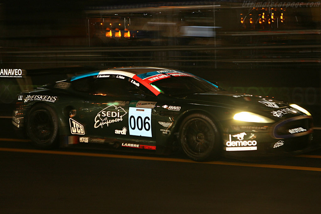 Incoming! - Chassis: DBR9/1 - Entrant: AMR Larbre  - 2007 24 Hours of Le Mans