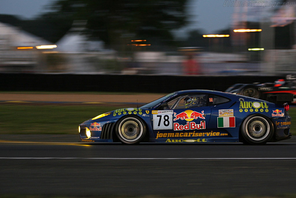 Into the night - Chassis: 2466 - Entrant: AF Corse  - 2007 24 Hours of Le Mans
