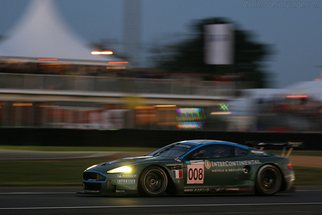 Into the night - Chassis: DBR9/3 - Entrant: AMR Larbre  - 2007 24 Hours of Le Mans