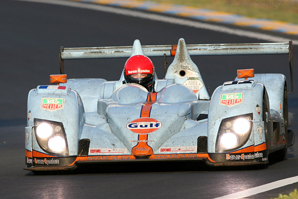 Juan Barazi in his Zytek - Chassis: 07S-01 - Entrant: Barazi Epsilon  - 2007 24 Hours of Le Mans