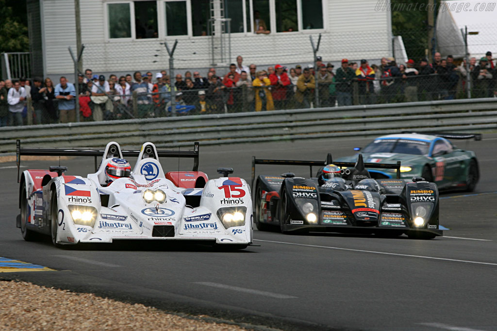 Judd Power - Chassis: B0610-HU03 - Entrant: Charouz Racing System  - 2007 24 Hours of Le Mans