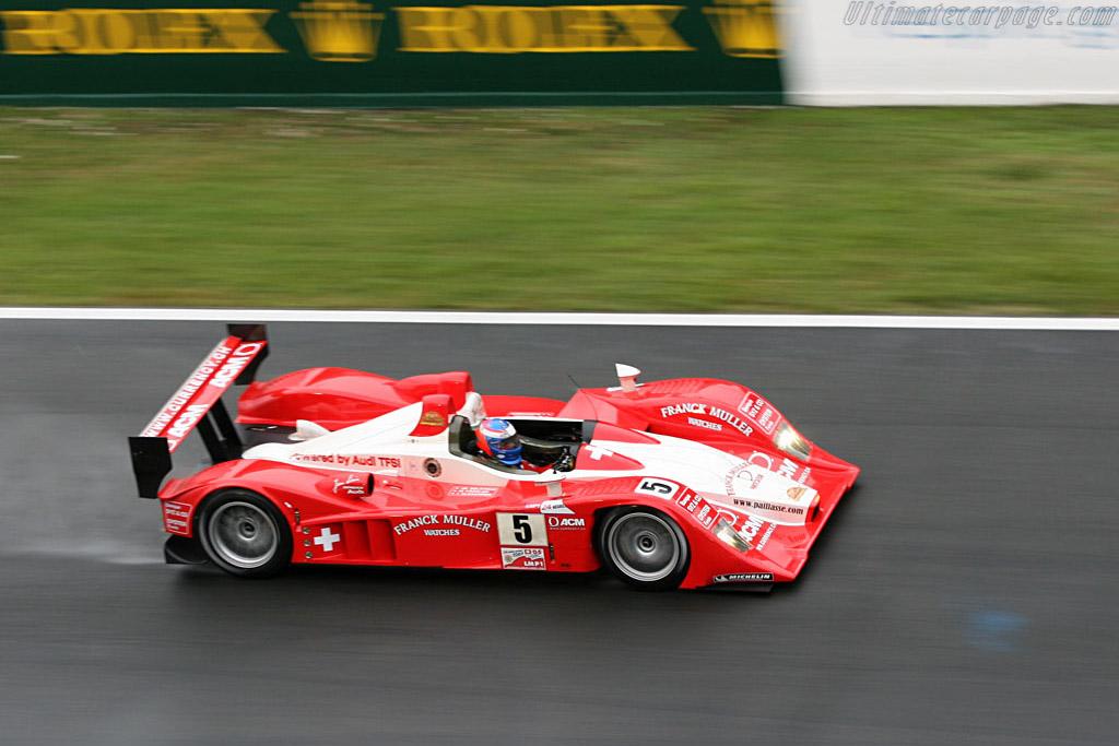 Lola B07/10 Audi - Chassis: B0710-HU01 - Entrant: Swiss Spirit  - 2007 24 Hours of Le Mans