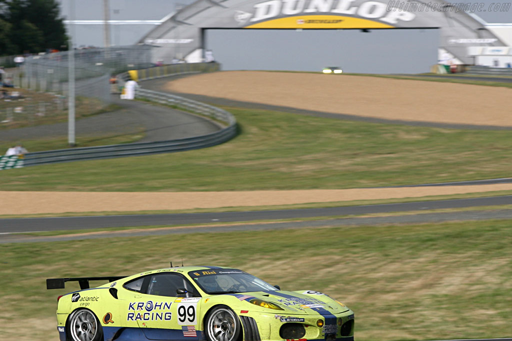 Lovely livery - Chassis: 2438b - Entrant: Risi Competizione  - 2007 24 Hours of Le Mans