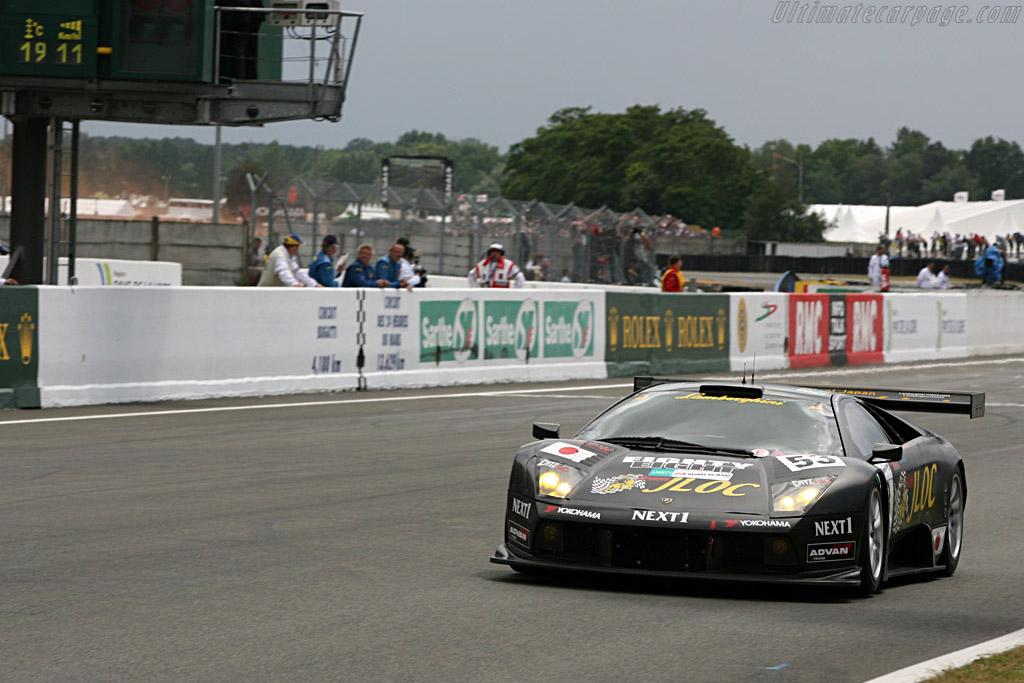 One lap wonder - Chassis: LA01058 - Entrant: JLOC Isoa Noritake  - 2007 24 Hours of Le Mans