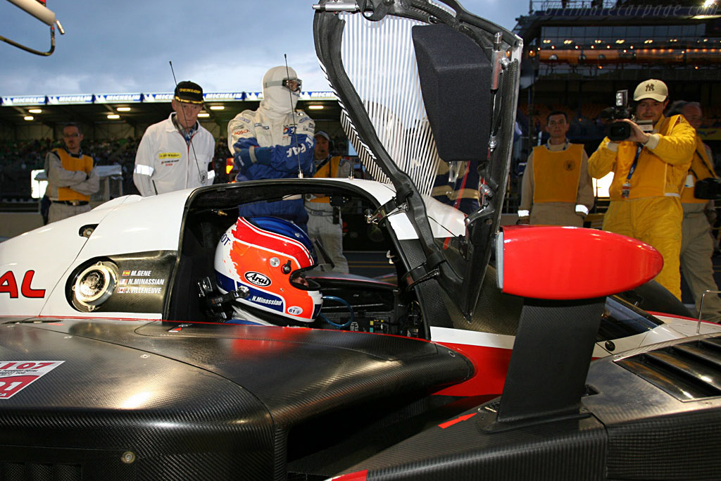 Peugeot 908 HDi FAP - Chassis: 908-02 - Entrant: Team Peugeot Total  - 2007 24 Hours of Le Mans