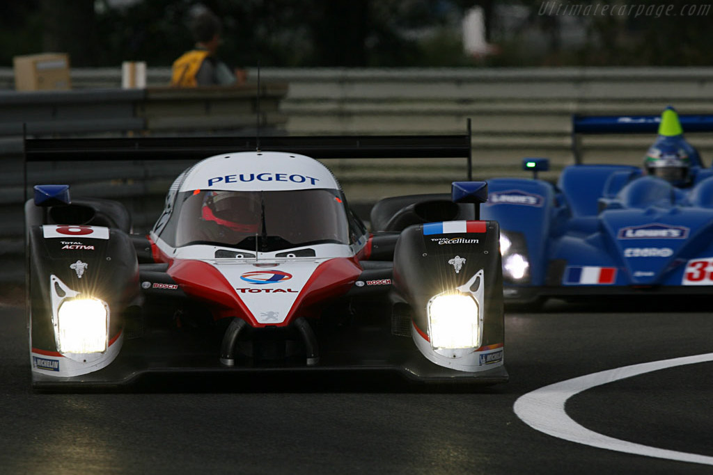 Peugeot 908 HDi FAP - Chassis: 908-03 - Entrant: Team Peugeot Total  - 2007 24 Hours of Le Mans