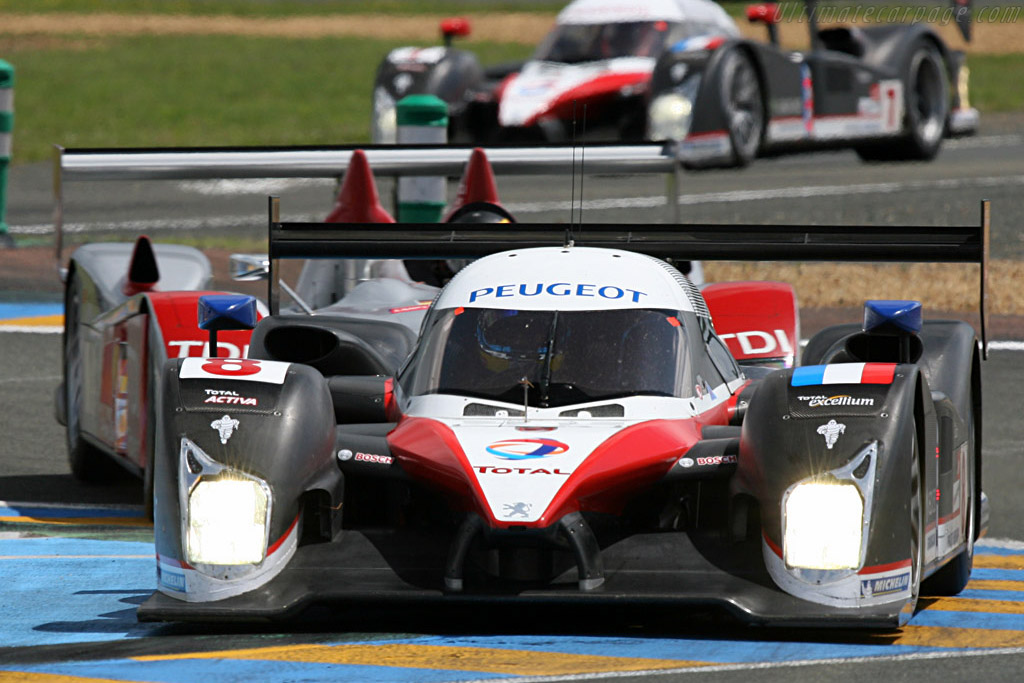 Peugeot sandwich - Chassis: 908-03 - Entrant: Team Peugeot Total  - 2007 24 Hours of Le Mans