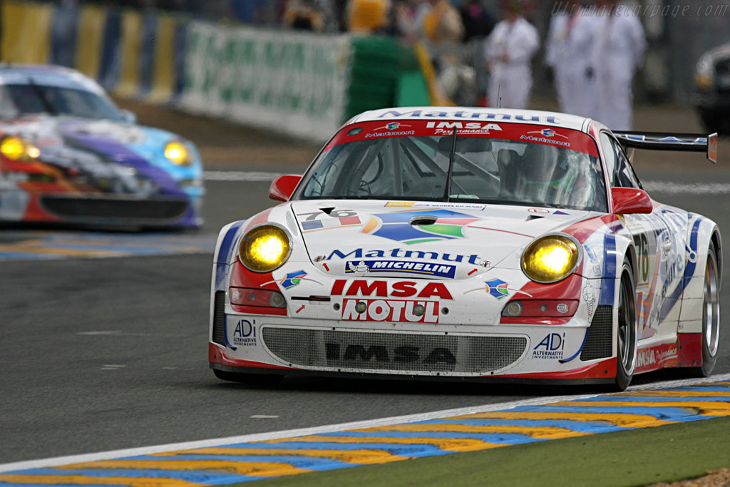 Porsche 1-2 in GT2 - Chassis: WP0ZZZ99Z7S799923 - Entrant: IMSA Performance Matmut  - 2007 24 Hours of Le Mans