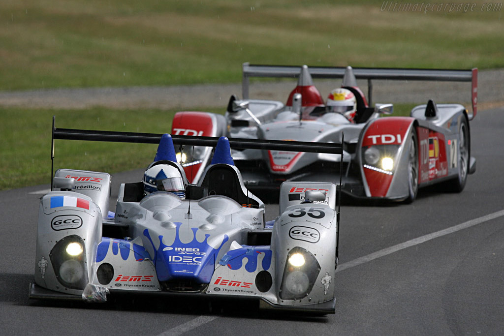 Rain for the Courage and Audi - Chassis: LC70-2 - Entrant: Saulnier Racing  - 2007 24 Hours of Le Mans