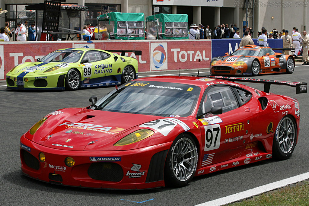 Risi's Ferraris - Chassis: 2406 - Entrant: Risi Competizione  - 2007 24 Hours of Le Mans