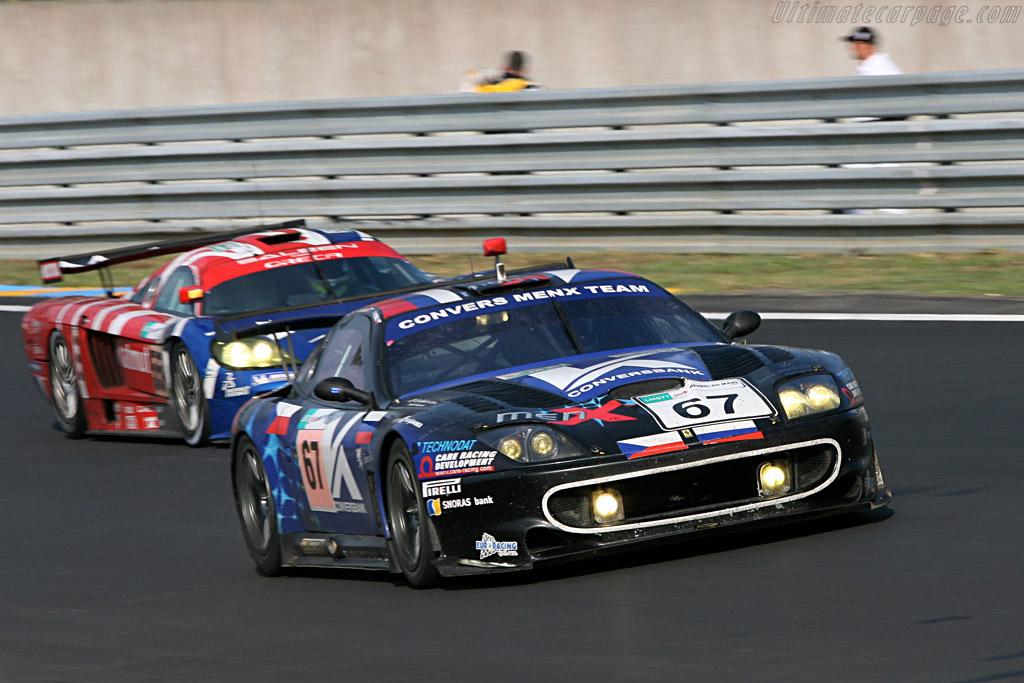 Seasoned warriors - Chassis: 108391 - Entrant: Convers Menx Team  - 2007 24 Hours of Le Mans