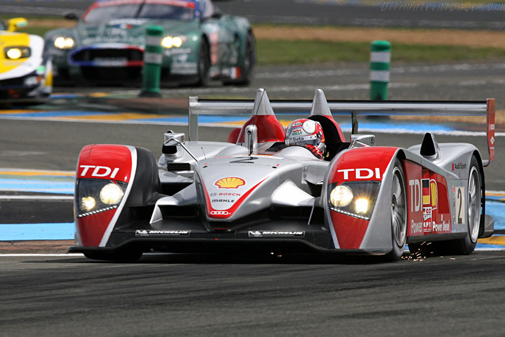 Sparkling opening stint for Dindo - Chassis: 204 - Entrant: Audi Sport North America  - 2007 24 Hours of Le Mans