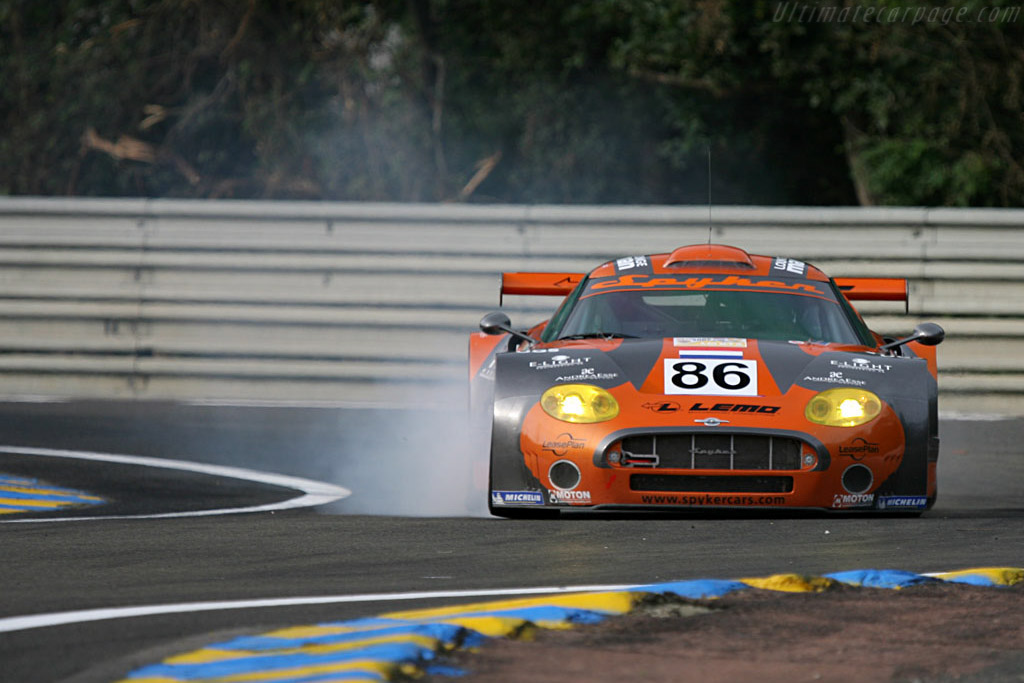 Spyker C8 Spyder GT2R - Chassis: XL9GB11H150363098 - Entrant: Spyker Squadron  - 2007 24 Hours of Le Mans