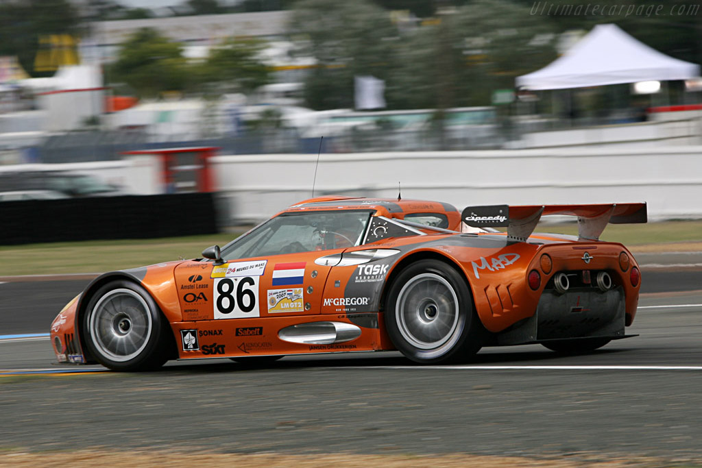 Spyker running steady in the opening stages - Chassis: XL9GB11H150363098 - Entrant: Spyker Squadron  - 2007 24 Hours of Le Mans