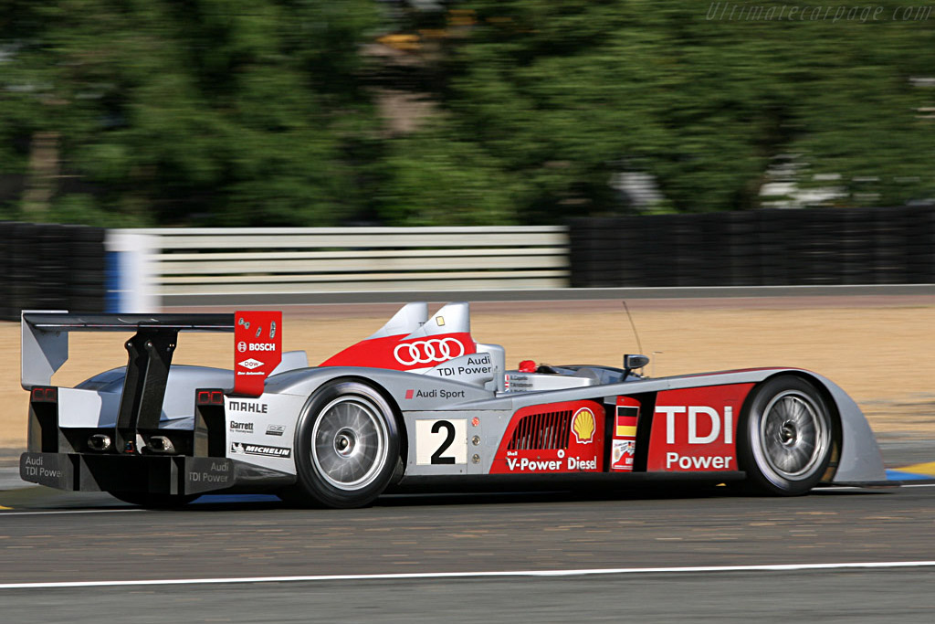 Still going strong - Chassis: 204 - Entrant: Audi Sport North America  - 2007 24 Hours of Le Mans