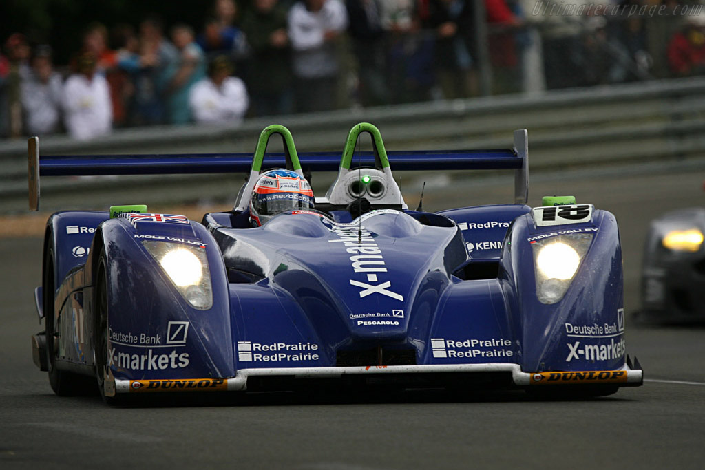 Stuart Hall on a Roll(centre) - Chassis: 01-04 - Entrant: Rollcentre Racing  - 2007 24 Hours of Le Mans