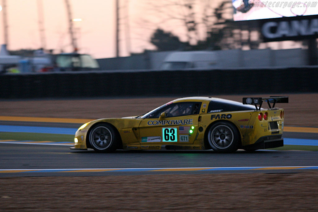 Sunrise - Chassis: 005 - Entrant: Corvette Racing  - 2007 24 Hours of Le Mans