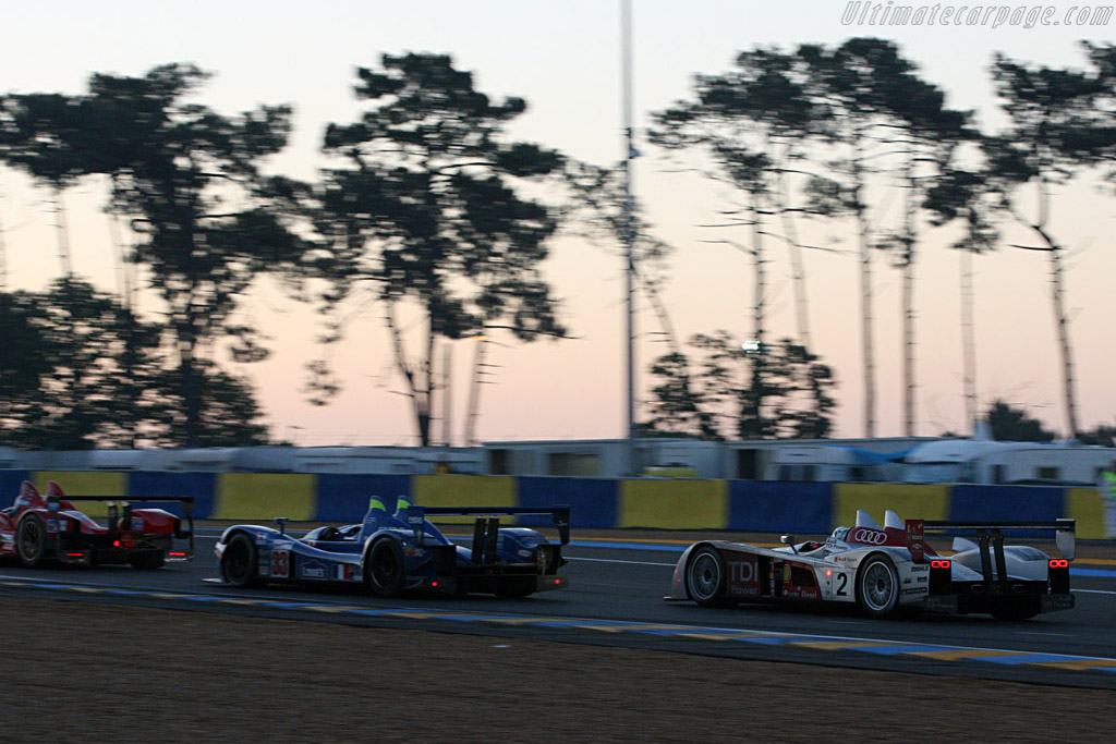 Sunrise - Chassis: 204 - Entrant: Audi Sport North America  - 2007 24 Hours of Le Mans