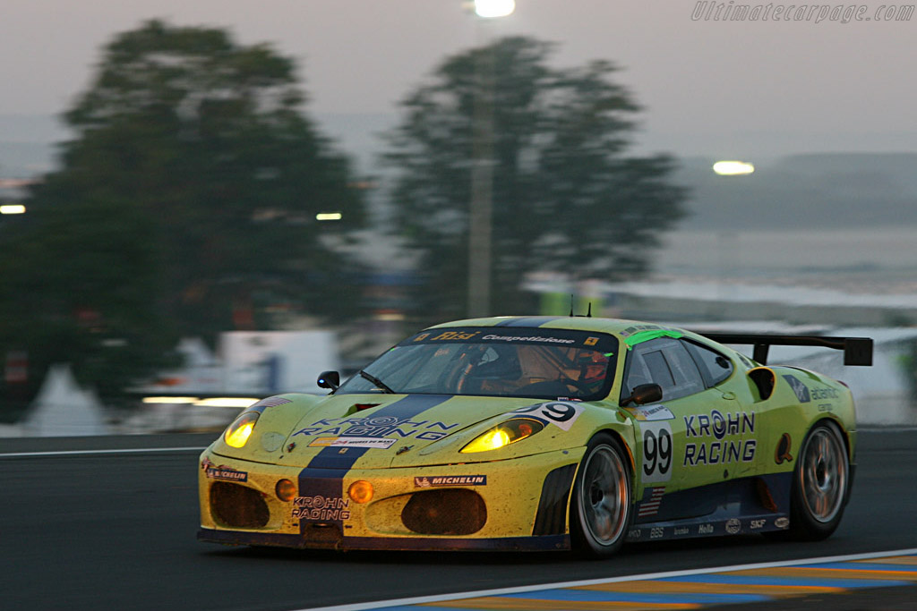 Sunrise - Chassis: 2438b - Entrant: Risi Competizione  - 2007 24 Hours of Le Mans