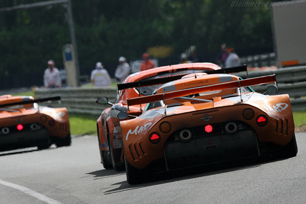 The boys in orange - Chassis: XL9GB11H150363098 - Entrant: Spyker Squadron  - 2007 24 Hours of Le Mans